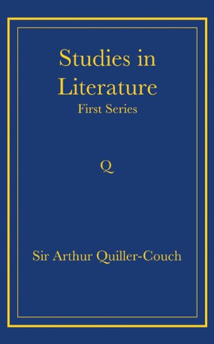 Studies in Literature Paperback: First Series