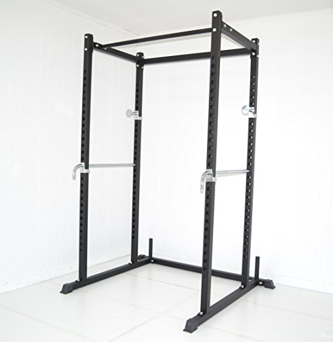 Atlas Power Rack Squat Deadlift Cage with Bench Racks (Bench Press Safety Rack compare prices)