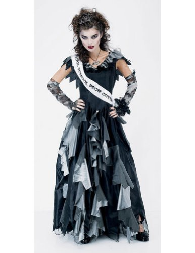 Zombie Prom Queen Womens Med Adult Womens Costume