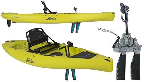 2018 Hobie Mirage Compass Pedal Kayak w/Reverse Drive (Seagrass Green)