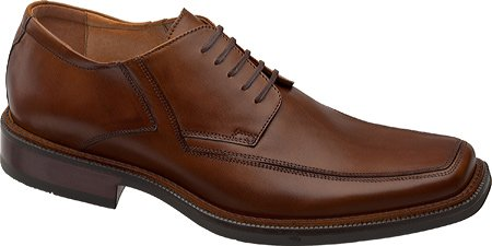 Johnston & Murphy Men's Rollins Moc-Toe Oxford,Tan Calf,12 M US