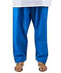 Neha Fashion Women's Regular Patiala Salwar Pant ( Blue )