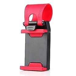 JM B00R671FAE1 Mobifit(TM) Car Steering Wheel Mobile Holder For Phones Up To 4.8 Inches (Multicolor)