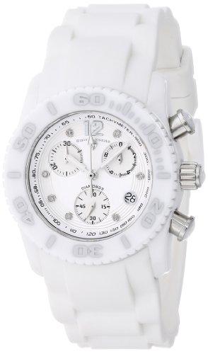 "Swiss Legend Women's 10128-02-SA ""Commander"" Diamond-Accented Stainless Steel Watch"