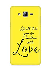 AMEZ let all that you do be done with love Back Cover For Samsung Galaxy ON5