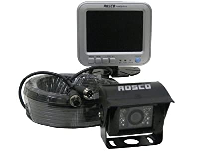 "5"" LCD Color Rear View Backup Camera System for RVs, Motorhomes, Trucks, Vans & Commercial Vehicles"