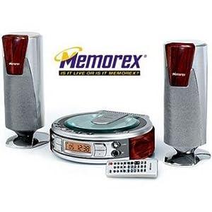 Memorex MICRO STEREO SYSTEM Plays audio CD, CD-R/RW MX4107