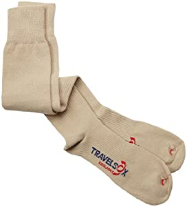 Travelsox Flight OTC Patented Graduated Compression Travel Socks TS1000 by Vitalsox