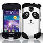 BY champper For Samsung Illusion / Galaxy Proclaim i110 (Verizon/Straight Talk) Rubberized Design Cover - Panda Bear