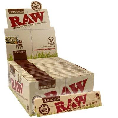 raw-organic-papers-king-size-slim-display-box-of-50-packs