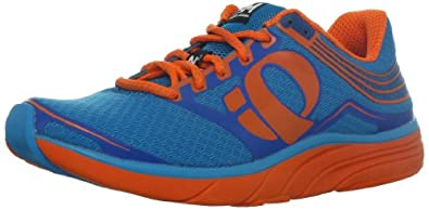 PEARL IZUMI Project E:Motion Road N2 Men's Running Shoe, Blue/Orange, UK10