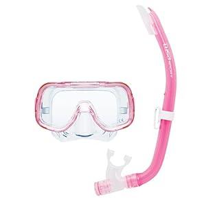 Tusa Sport Mini Kleio - Kit de buceo con máscara y tubo unisex