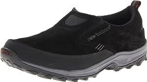 New Balance Men's MWM756v2 Slip On Country Walking Shoe,Black,9.5 D US