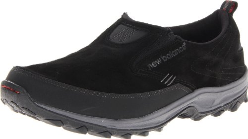 New Balance Men's MWM756v2 Slip On Country Walking Shoe,Black,12 D US