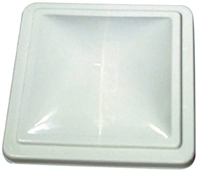 Camco 40161/40168 RV White Unbreakable Polycarbonate Vent Lid - Ventline (pre 2008) & Elixir (since 1994)