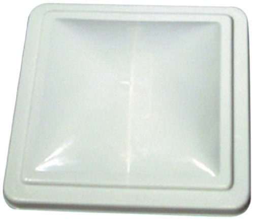 Camco 40168 RV White Unbreakable Polycarbonate Vent Lid &#8211; Ventline &#038; Elixir