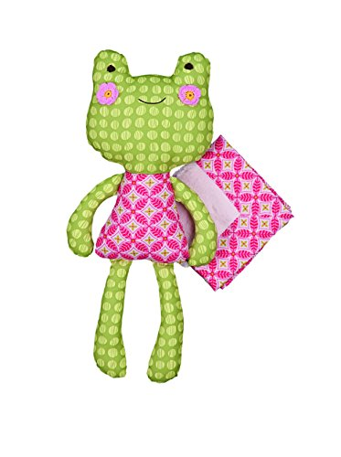Lolli Living Softie Plush and Blanket - Sofia Frog