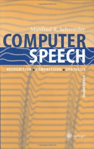 Computer Speech: Recognition, Compression, Synthesis