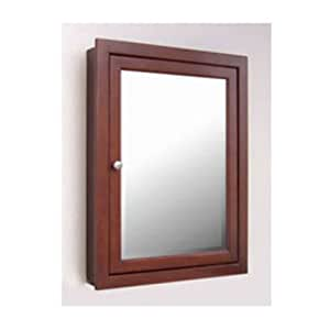 Windsor Medicine Cabinet Finish Dark Cherry Configuration Semi Recessed