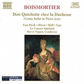 Don Quichotte chez la Duchesse, op. 97: Acte II Air pour charmer