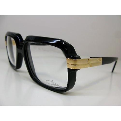 "CAZAL(カザール)サングラス ""レジェンズ""607 Col.001(フレーム:黒、レンズ:クリア) [正規輸入品]"