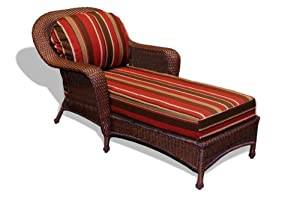 Tortuga Outdoor Lexington Resin Wicker Chaise Lounge Patio Cha