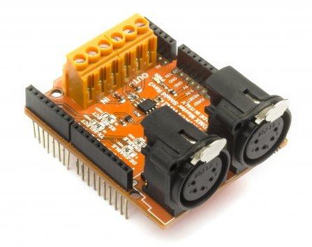 Gheo Electronics,Tinkerkit DMX Master Shield
