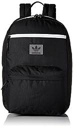 adidas Originals National Backpack, One Size, Black/Neo White