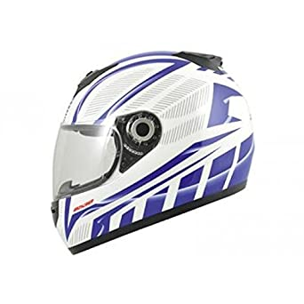 Casque boost b530 ultra blanc/bleu xl - Boost BS04526