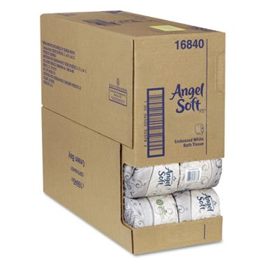 "Angel Soft Bath Tissue ""Case Of 80"""