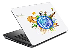 meSleep Indian Flag Chakra Laptop Skin