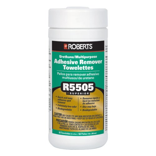 Roberts R5505 Adhesive Remover Towelettes