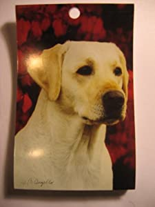 Yellow Lab Brideg Scorepad