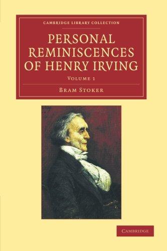 Recuerdos personales de Henry Irving (colección de la biblioteca de Cambridge - estudios literarios)