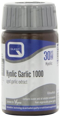 Quest 1000mg Kyolic Garlic Premium - Pack of 30 Tablets