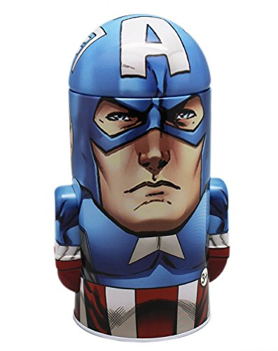 Avengers Captain America - New Tin Coin Bank!
