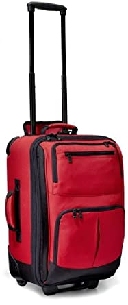Click to buy Best Carry On Luggage: Rick Steves 21 Inch Roll Aboard Bagfrom Amazon!
