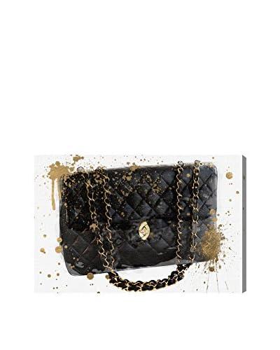 """Oliver Gal """"Black Bag"""" Canvas Art"""