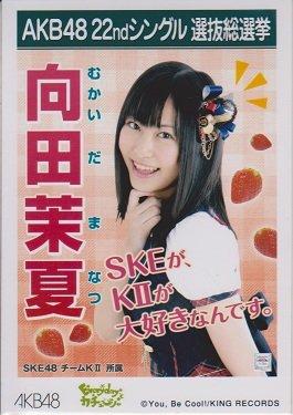 AKB48公式生写真22ndシングル選抜総選挙【向田茉夏】