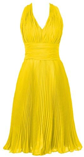 MACloth -  Vestito  - Donna giallo 62
