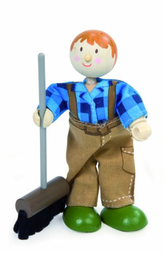 Budkins Jimmy The Farmhand Figure