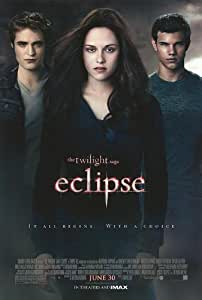 Twilight Saga : Eclipse Movie Poster Double Sided Original 27x40