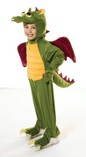 Childs Boys Girls Dragon Fancy Dress Costume New Medium