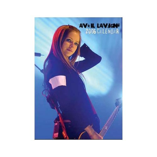 Avril Lavigne - Kalender Kalender 2006 - Avril Lav