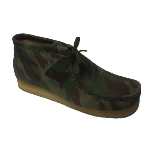 Amazon.com: Clarks Men's Wallabee Boot ( sz. 13.0, Camo