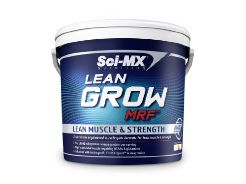 Sci-MX Nutrition Lean Grow MRF 5000 g Vanilla Lean Muscle and Strength Shake Powder