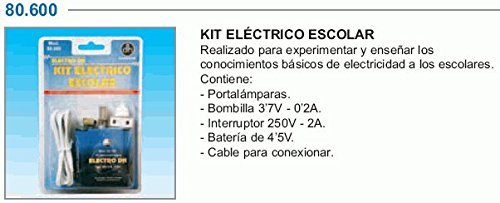 Electrodh - Kit Escolar Portal.+Bom.+Pila 80600