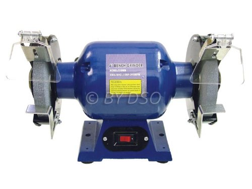 Professional Trade Quality Powerful 150mm 6 inch 370W High Quality Bench Grinder PW057