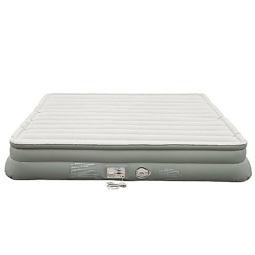 Aerobed King Airbed Air Mattress ~ Double High 14 Built-In Electric Pump New
