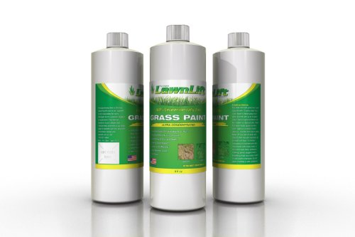 Lawnlift Ultra Concentrated (Green) Grass Paint 16oz. = 2 Gallons of Product.